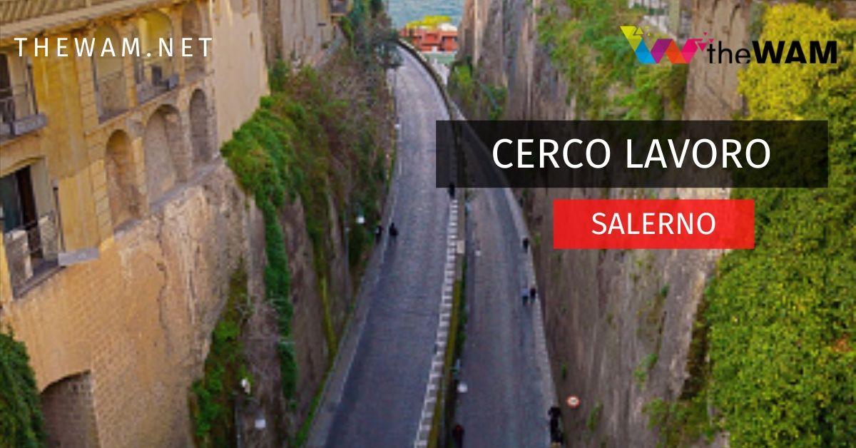 Cerco lavoro Salerno e provincia: annunci offerte ...