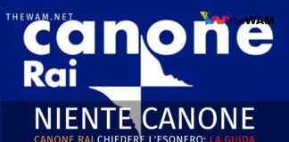 Canone Rai esonero 2020