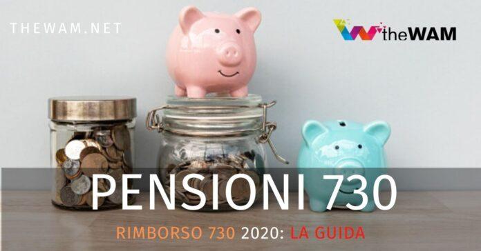 Rimborso 730 pensionati 2020
