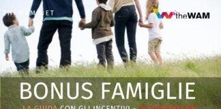 tutti i Bonus per famiglie numerose