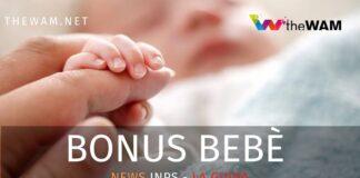 Bonus bebè news Inps