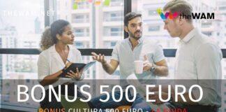 Bonus cultura 2020