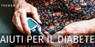 Bonus diabete e agevolazioni