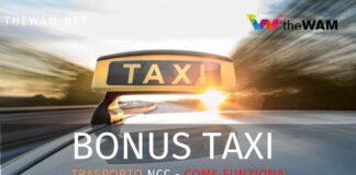 Bonus taxi agosto 2020