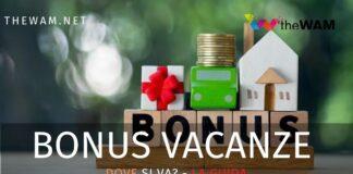 In quali strutture si può usare il bonus vacanze