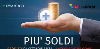 Iniziano i pagamenti delle integrazioni al reddito di cittadinanza grazie alle indennità covid-19