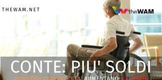 Pensioni di invalidità totale agosto aumento