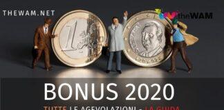 Tutti i bonus di settembre 2020