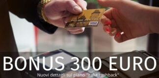 Bonus 300 euro: emergono nuovi dettagli sull'incentivo rivolto a commercianti e consumatori