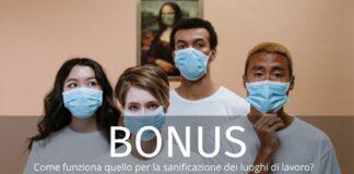 Bonus sanificazione: contributo scende al 9%. Come funziona?