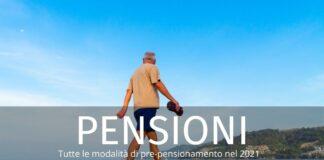 Pensione anticipata 2021: requisiti anagrafici e contributivi. I dettagli