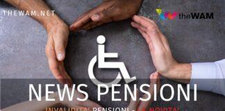 Pensioni di invalidità. News dell'Inps per l'accredito