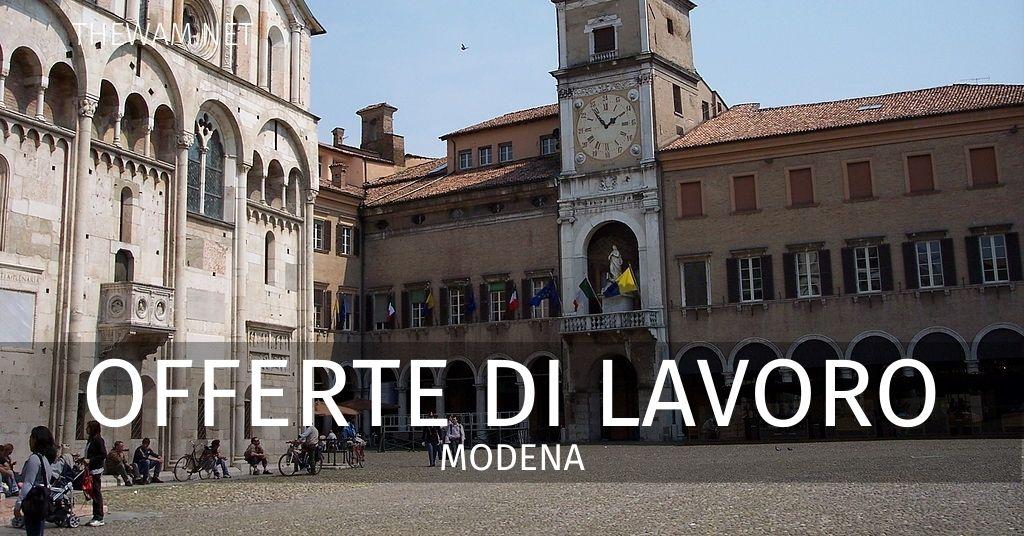 Offerte di lavoro Modena e provincia: annunci sempre ...