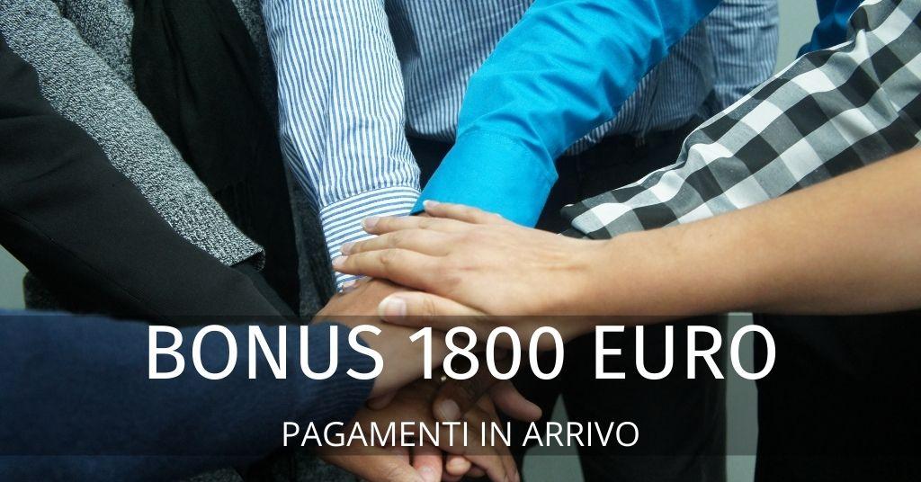 Bonus 1800 euro: di cosa si tratta e a chi spetta. I dettagli