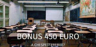 Bonus 450 euro lavoratori a rischio: in cosa consiste e a chi è rivolto
