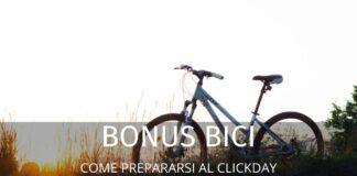 """Bonus Biciclette: come """"sopravvivere"""" al clickday di novembre"""