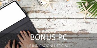 Bonus Pc: importo, requisiti, come funziona. Le informazioni utili
