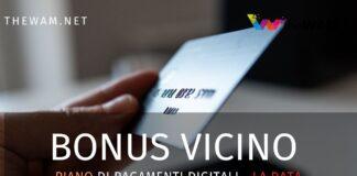 Bonus pagamento bancomat più vicino