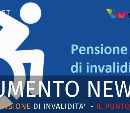 Pensione di invalidità. Aumento e arretrati. Le news di Inpal