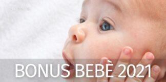 Bonus Bebè 2021 in Legge di Bilancio: cosa cambia con l'assegno unico?