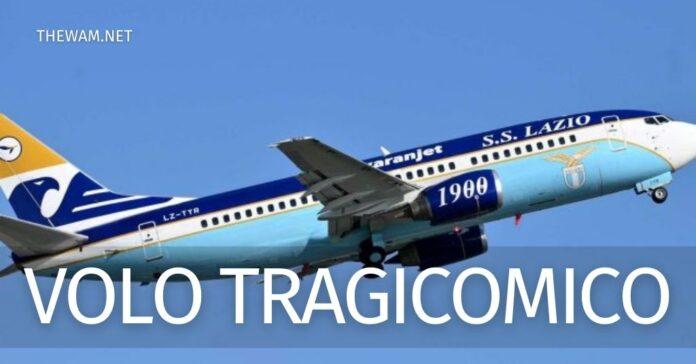 Lazio, video sull'aereo: è stato Hoedt, multato