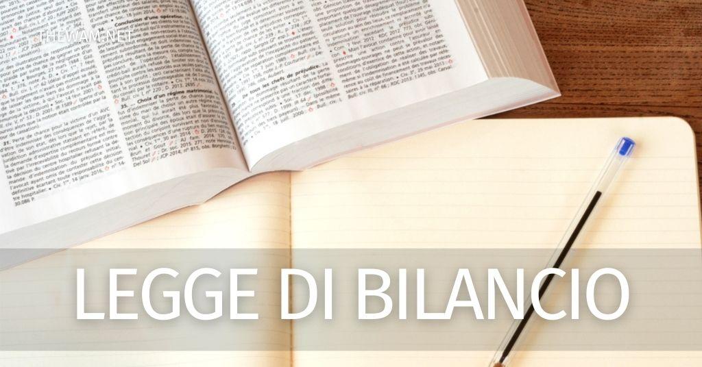Legge di bilancio 2020: quali novità nella prossima Finanziaria?