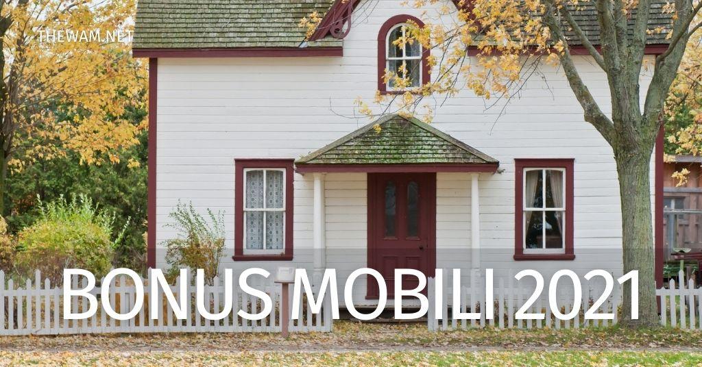 Bonus mobili 2021: importo, requisiti, come funziona l'incentivo