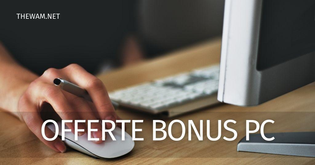 Offerte connessione internet dicembre 2020: le migliori col Bonus Pc