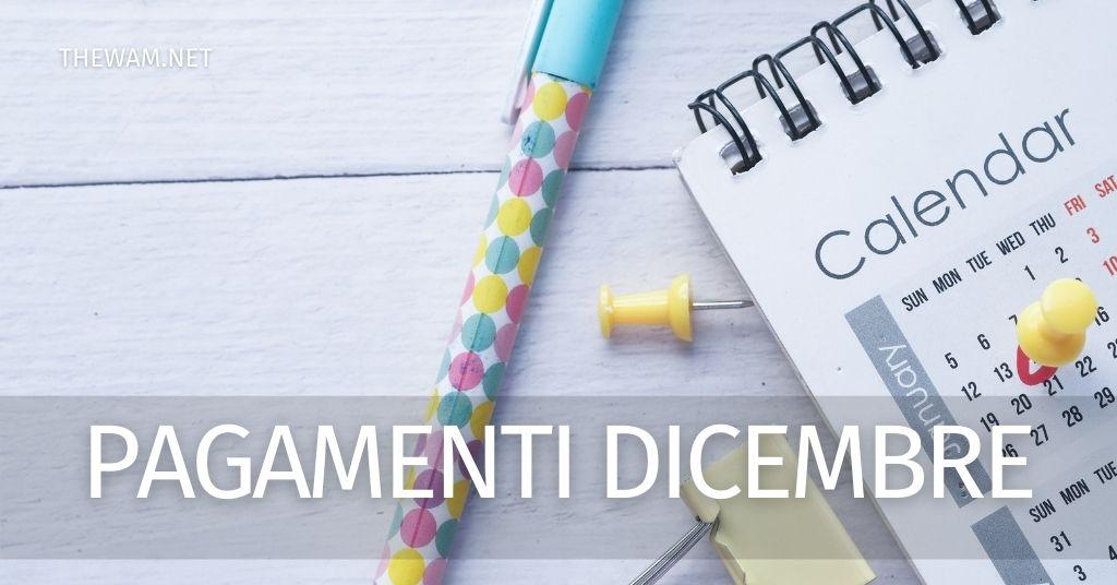 Pagamenti Bonus, Rdc, Rem, Naspi, pensioni: i pagamenti entro metà dicembre