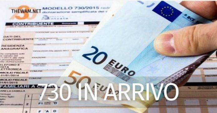 Rimborso 730 senza sostituto 2020 pagamento dicembre 2020 in corso