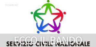 Servizio civile nazionale 2021 bando