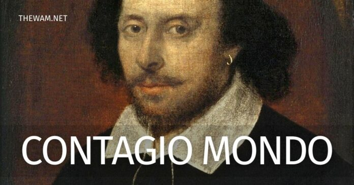 Coronavirus, William Shakespeare si vaccina. Ministro piange
