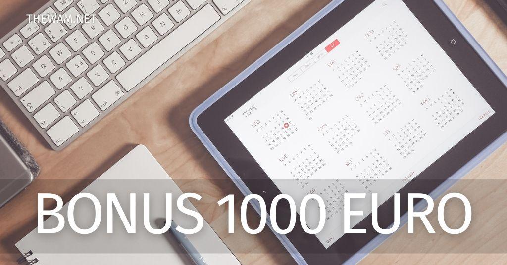 Bonus 1000 euro: quando arrivano gli accrediti? Date probabili