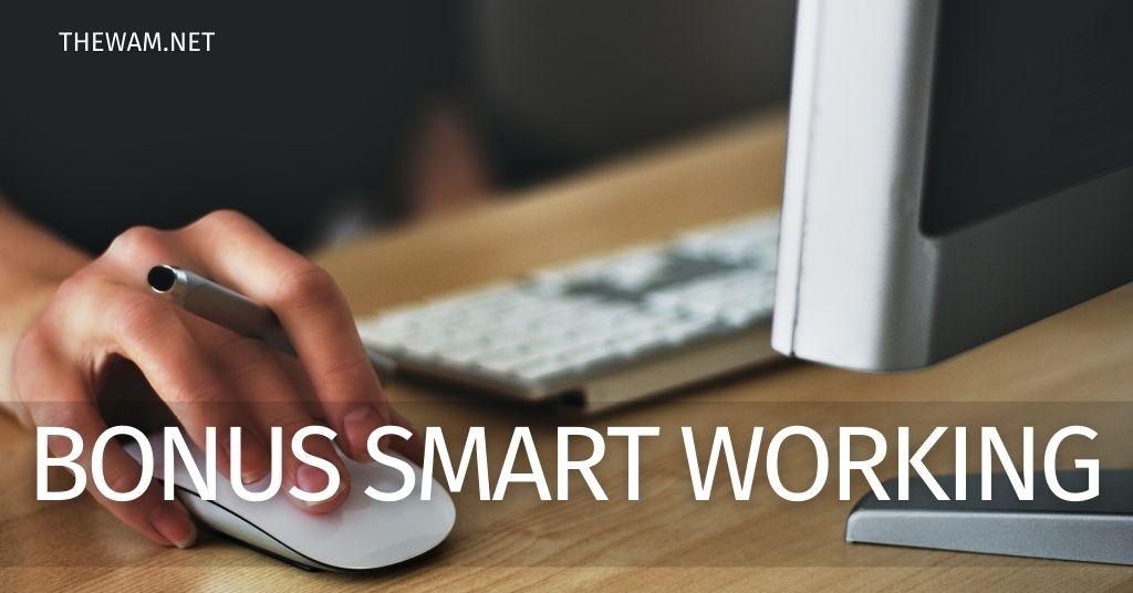 Bonus spesa smartworking: incentivo per chi lavora da casa in arrivo?
