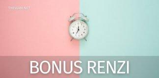 Pagamento bonus Renzi gennaio 2021 quando arriva