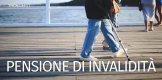 Pensione di invalidità civile: limiti di reddito e importo nel 2021
