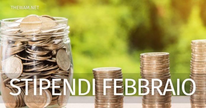 Noipa cedolino febbraio 2021: quando parte il pagamento degli stipendi