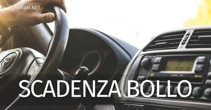Scadenza bollo auto: il calendario dei pagamenti