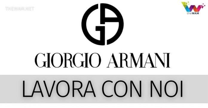 Armani lavora con noi. Tutte le posizioni lavorative aperte a marzo 2021