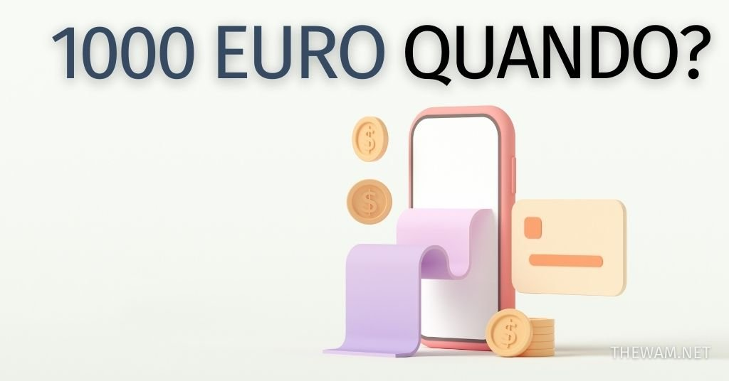 Bonus 1000 euro quando arriva Decreto Sostegno