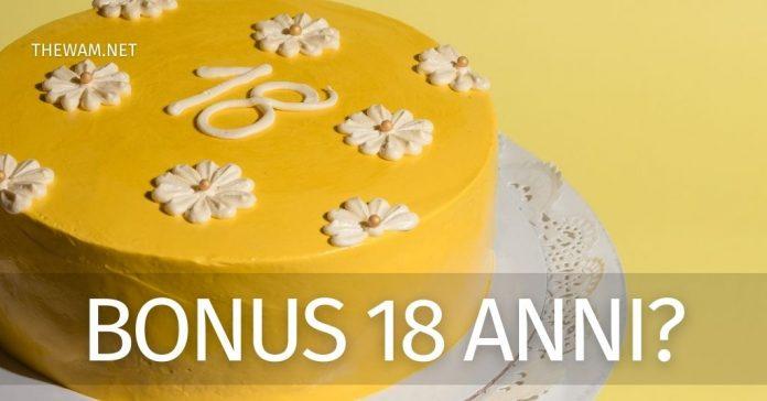 Bonus 18 anni 2021