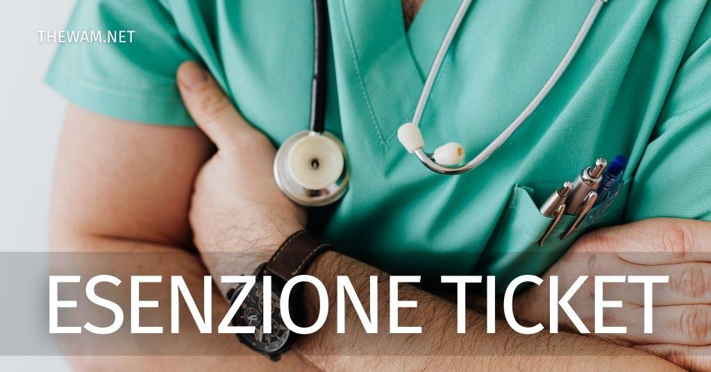 Esenzione ticket sanitario 2021 A chi spetta e domanda