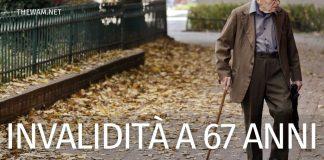 Quando la pensione di invalidità si trasforma in assegno sociale? La procedura