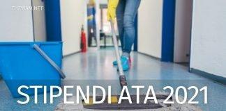 Stipendio per personale Ata nel 2021 in Italia.