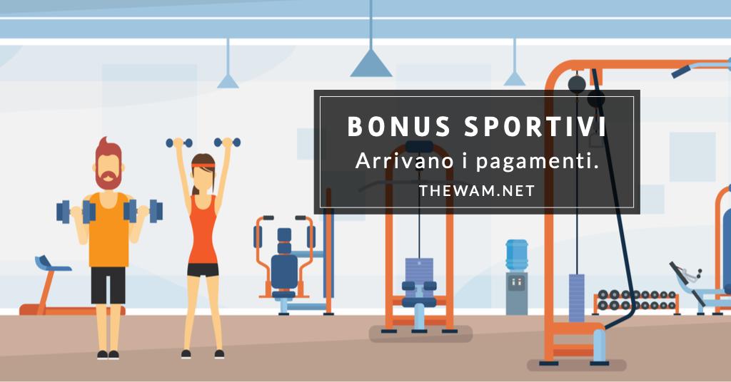 Bonus collaboratori sportivi- ecco il pagamento. Le date