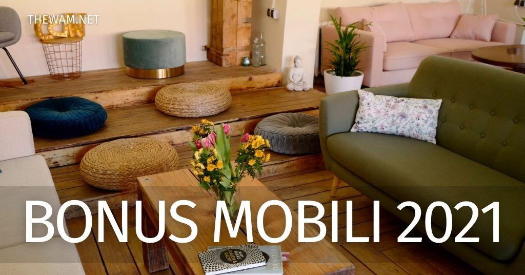 Bonus mobili 2021: come ottenerlo. Importo e domanda per l'incentivo