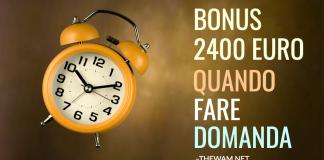 Bonus stagionali 2021 quando fare domanda