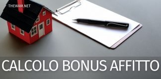 Come si calcola il Bonus affitto 2021: uno sguardo alla procedura