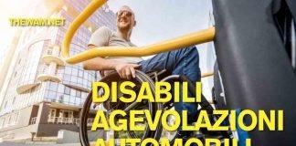 Disabili, agevolazioni per l'acquisto di un'auto
