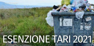 Esenzione Tari 2021: quando si può evitare di pagare la tassa sui rifiuti?